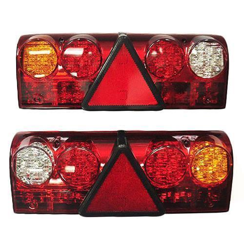 Πίσω φανός LED 24V, φρένων-πίσω-φλας-όπισθεν-ομίχλης, σετ 2 τεμαχίων δεξί-αριστερό Προϊόντα