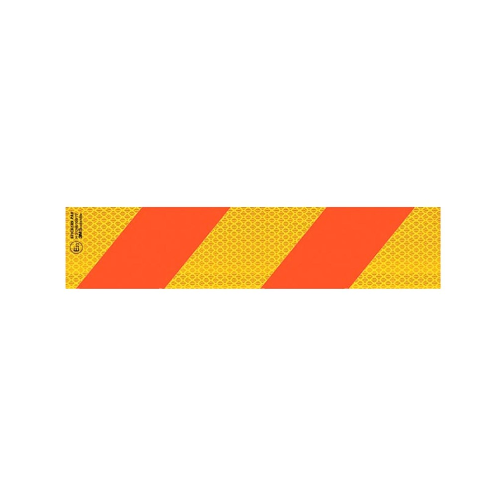 Ανακλαστική Πινακίδα Φορτηγού 3M Αλουμινίου - 56 x 14 cm