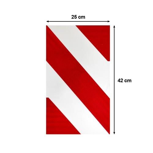 Ανακλαστική Πινακίδα Υδραυλικής Πόρτας 3M - 42 x 25 cm