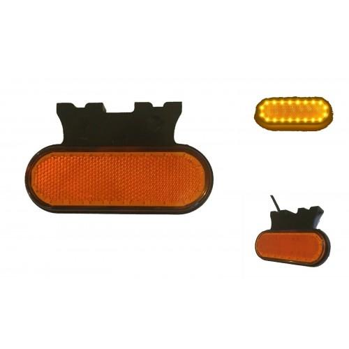 Φως πλευρικής σήμανσης με λεπτό σχεδιασμό 20 SMD LED 24V Πορτοκαλί