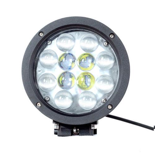 Spot προβολέας λευκός με 12 Cree LED 10-30V, 60W