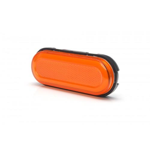 Πορτοκαλί πλευρικά φώτα θέσης νέον 12/24V LED WAS