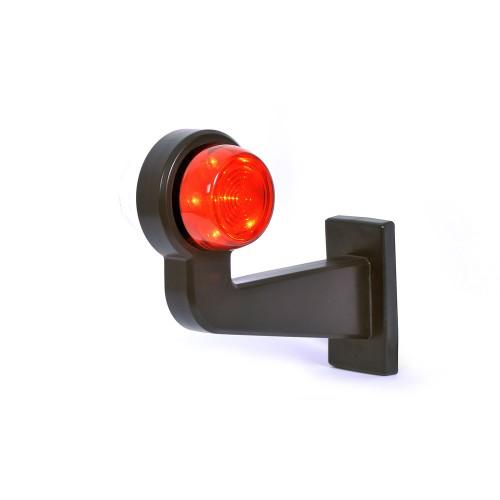 LED φώτα πλευρικής σήμανσης τ.κέρατο 12V/24V Λευκό-Κόκκινο WAS Φανοί Θέσης Πλευρικοί 2 Όψεων